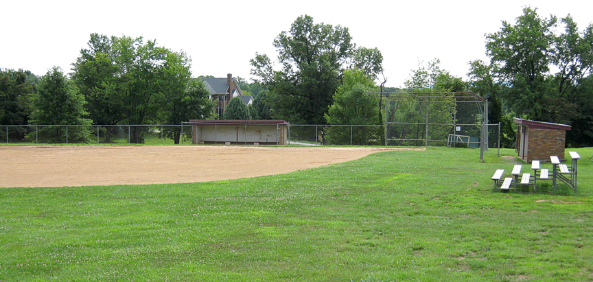 Athletic field at Marshall Middle School