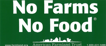 No Farms No Food Sign