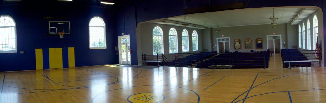 MCC Gym Paint job