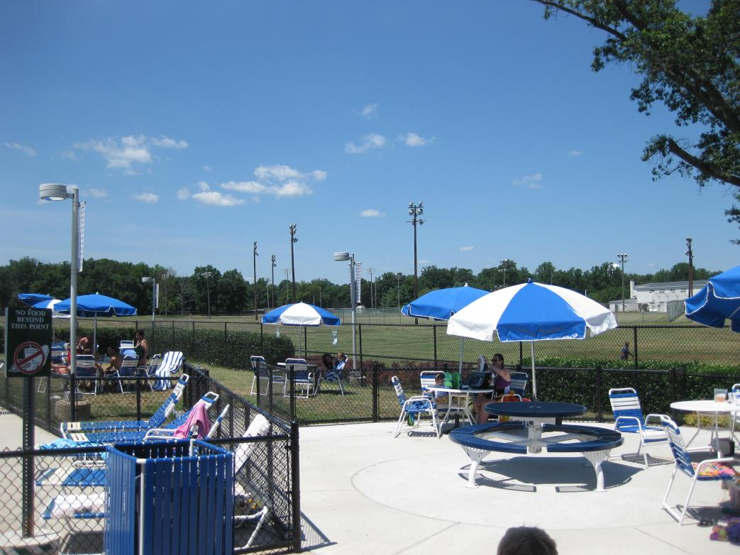 Larry Weeks Community Pool Concession Patio