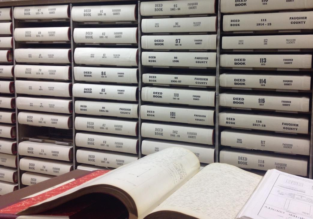 Record Room | Fauquier County, VA