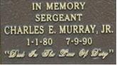 Sgt Chrarles Murray Jr stone