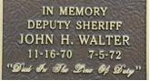 deputy john walter stone